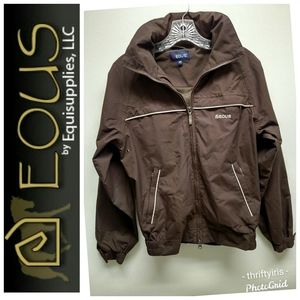 EOUS-Equestrian Chocolate Brown Riding Jacket-XS🏇